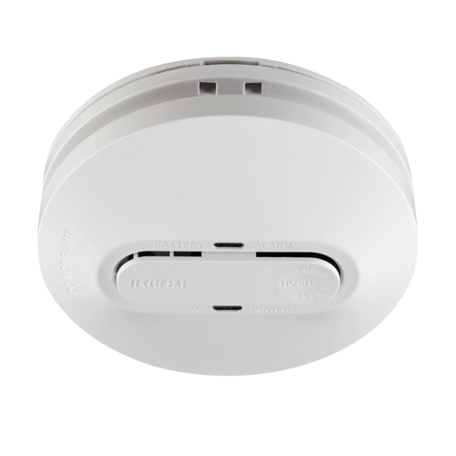 Clipsal Photoelectric Smoke Alarm with Rechargeable Battery