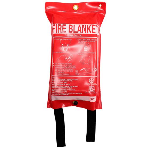 1.0m x 1.0m Fire Blanket