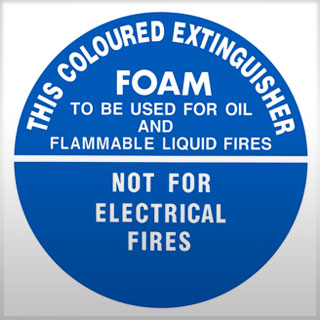 Identification Sign - Air Foam