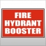 Location Sign - Fire Hydrant & Booster Valve