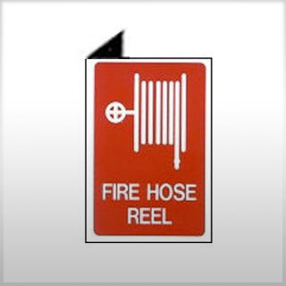 Location Sign - Right Angle Fire Hose Reel