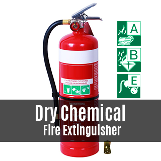 Dry Chemical Fire Extinguisher Featured Photo
