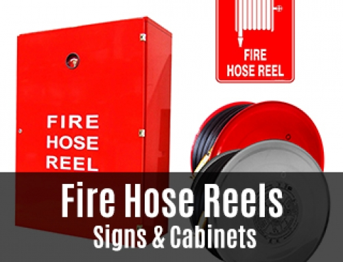 Fire Hose Reels, Signs And Cabinets