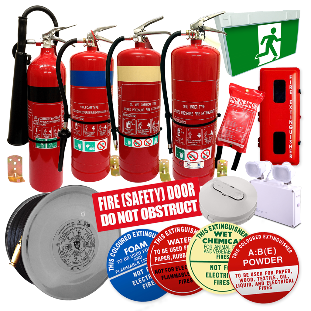 Fire safety products across Australia