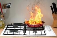 Kitchen Fire - Class F Fire