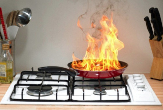 Kitchen Fires From Preventing To Extinguishing Fire