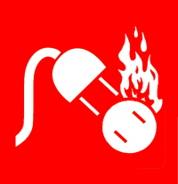 Class E - Electrical Fire icon