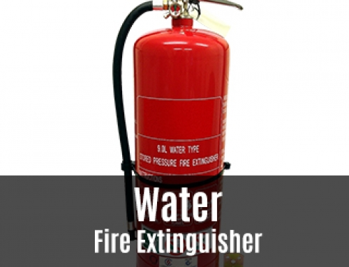 Water Fire Extinguisher – What Colour Band and What Is It Used For?
