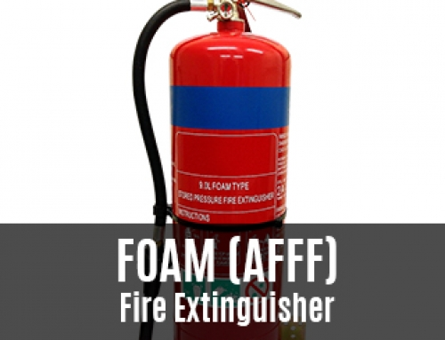 Foam Fire Extinguisher – What Colour Band And What Is It Used For?