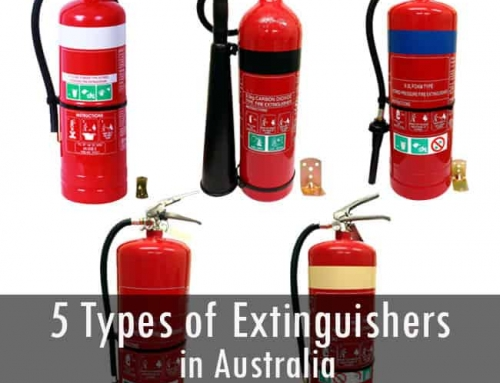5 Most Common Types of Fire Extinguishers in Australia