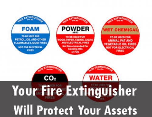 Your Fire Extinguisher Signs Will Protect Your Assets