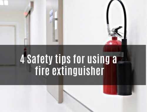 4 Safety tips for using a fire extinguisher
