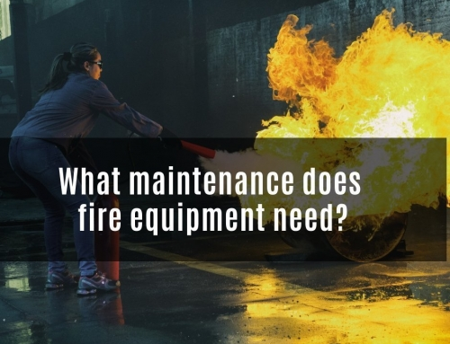 What Maintenance Does Fire Equipment Need?