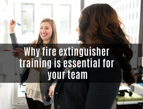 Why fire extinguisher training is essential for your team