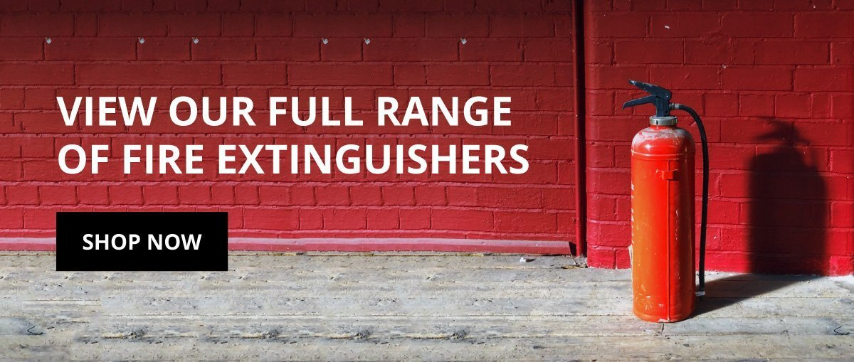 Full fire extinguisher range