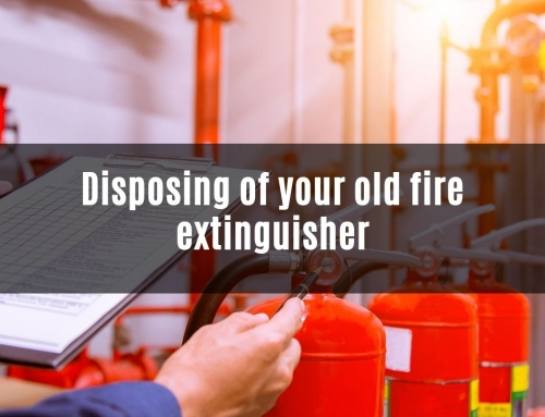 Disposing of your old fire extinguisher