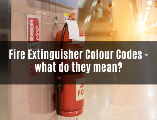 Fire extinguisher colour codes: what do they mean?