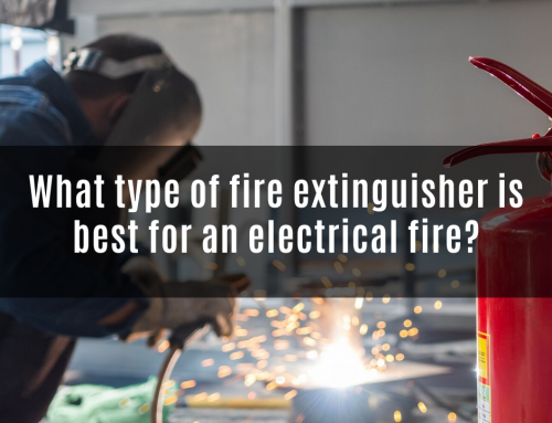 What type of fire extinguisher is best for an electrical fire?