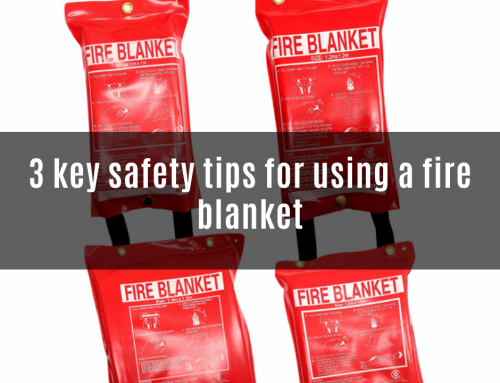 3 key safety tips for using a fire blanket
