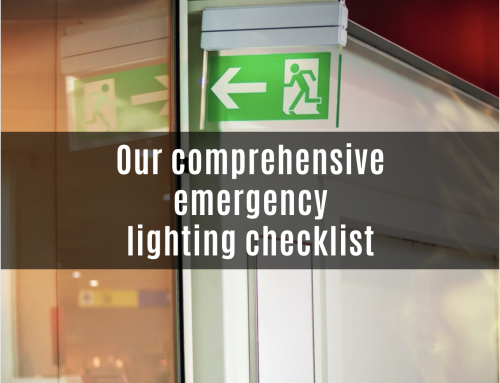 Our comprehensive emergency lighting checklist