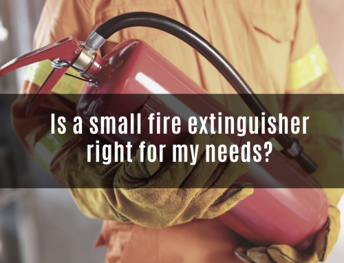 Is a small fire extinguisher right for my needs?