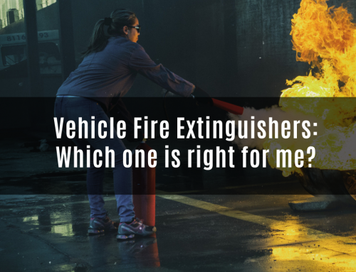 Vehicle Fire Extinguishers: Which one is right for me?