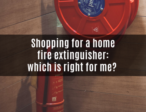 Home fire extinguisher – which is right for me?