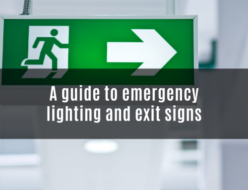 A guide to emergency lighting and exit signs